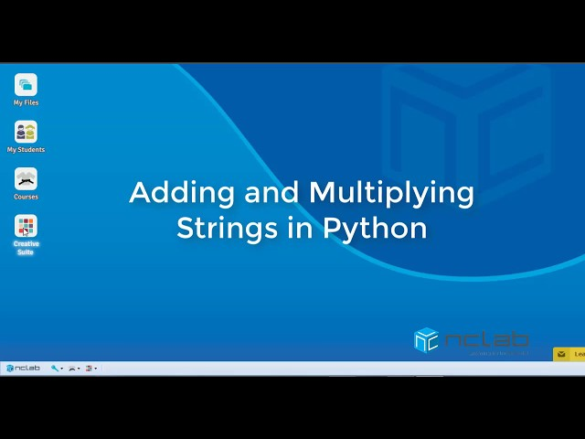 Adding and Multiplying Python Strings