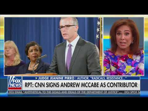 'Established liar': Conservatives mock CNN for hiring former FBI number two Andrew McCabe