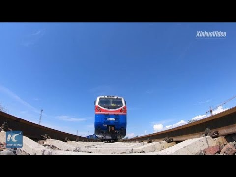 Xinjiang's border port sees surging China-Europe freight trains