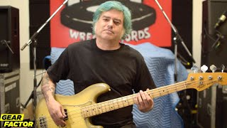 NOFX's Fat Mike Plays His Favorite Bass Riffs