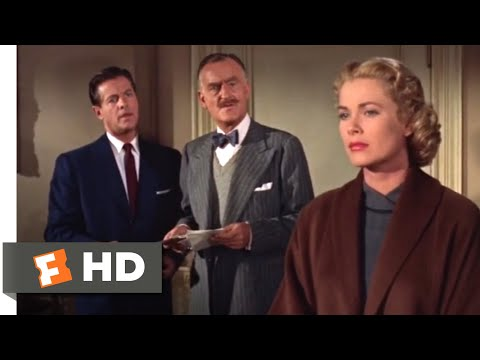 Dial M For Murder (1954) - A Very Serious Position Scene (7/10) | Movieclips