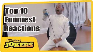 Impractical Jokers Top 10 Funniest Reactions