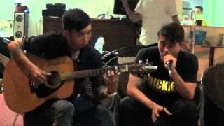 Ta và nàng cover by Bóng Thầy guitarist: Mickey tại cafe thủy Viên 26-5-2015