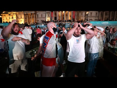 England fans mourn Euro 2020 final heartbreak after penalty shoot-out