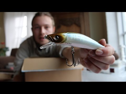 Unboxing Sea Bass Lures and Going To Morocco!