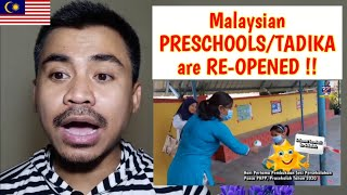Malaysian PRESCHOOL or TADIKA during New Norm, A REACTION by Indonesian Teacher !!