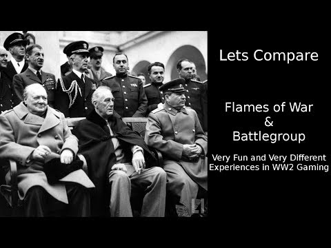 Battlegroup & Flames of War - A Comparison of Two Gaming Systems