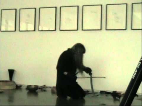 Haino Keiji Voice Performance+Percussion Dance(part4)@Taka Ishii Gallery(2011.2.26)