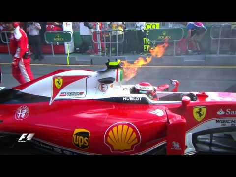 2016 Australian Grand Prix: Highlights