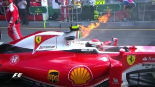 2016 Australian Grand Prix: Highlights