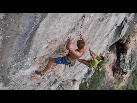 Sport Climbing in Getu China: one of the best 8as in China!