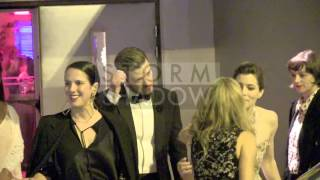 Justin Timberlake and Jessica Biel leaving Canal Plus party in Cannes