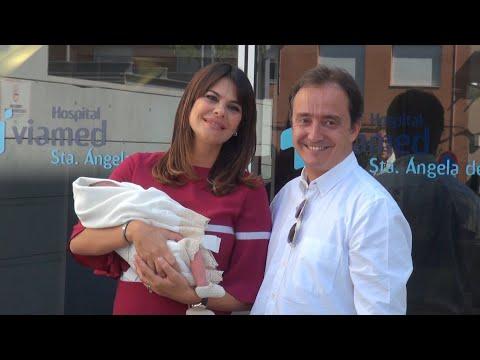 Maria José Suárez ya está en casa con su bebé Elías