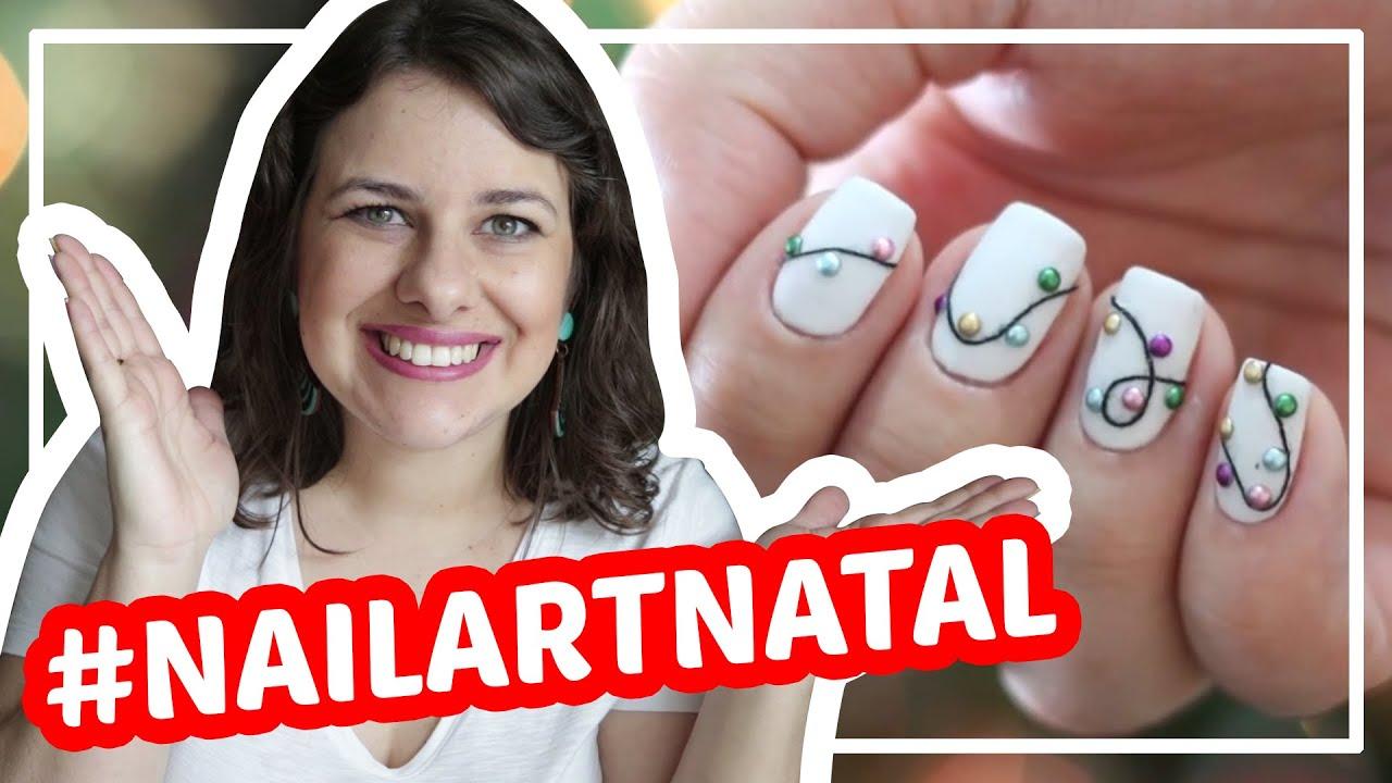 Nail Art de Natal - unhas decoradas #tbt - Vício de Menina
