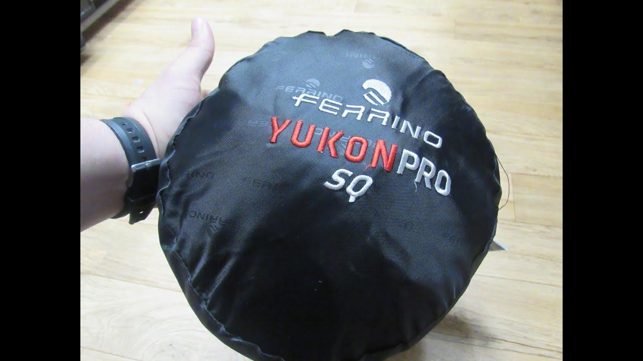 Ferrino Yukon Pro Sq Sleeping Bag Review