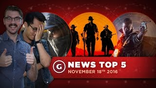Xbox Talks Scorpio, Take-Two Talks Red Dead Redemption 2! - GS News Top 5