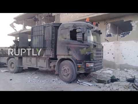 Syria: SAA reclaims strategic town of Mesraba in Eastern Ghouta