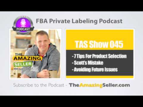 7 Tips For Choosing Your First Product To Sell On Amazon (Checklist)-TAS Show Ep. 45