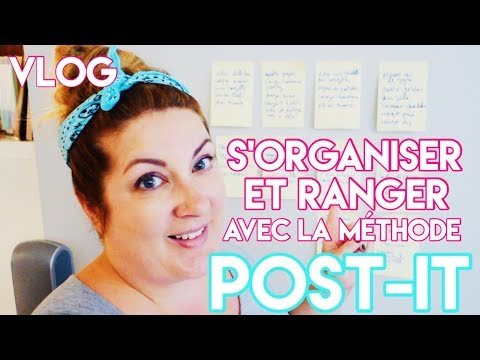 COMMENT ORGANISER ET RANGER AVEC LA MÉTHODE POST-IT 💡PRODUCT