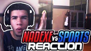 NaDeXe Vs Sports 1v1 IRL REACTION!