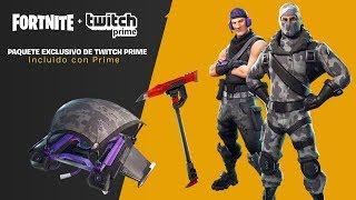 Trying out the new free twitch prime peak, Fortnite: battle royale!!!!!!