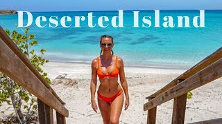 Sailing to a DESERTED ISLAND in Puerto Rico Sailing GBU