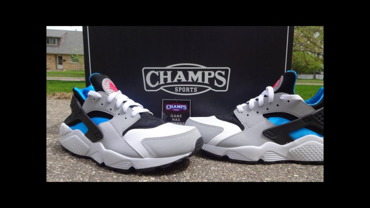 015186be6d84 Nike Air Huarache - Detailed Review Courtesy of  ChampsSports - YouTube