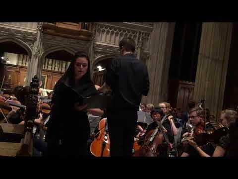 Sofia Kirwan-Baez & The Ripieno Players of Oxford: MAHLER 4th SYMPHONY (4th MOVEMENT)