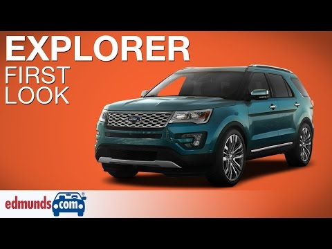2016 Ford Explorer First Look | LA Auto Show