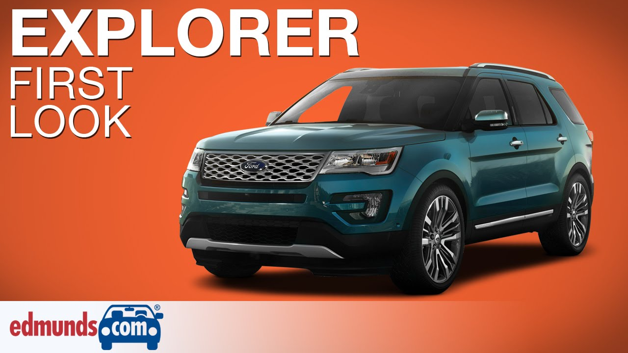 Elegant 2016 Ford Explorer First Look  LA Auto Show  YouTube