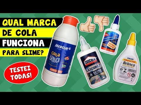 TESTANDO marcas de COLA para SLIME | TIO LUCAS