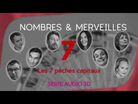 Vidéo N°7 - Les 7 péchés capitaux NOMBRES et MERVEILLES.Je suis Blanche-Neige.Episode écrit , joué par Eric Lourioux et EvelyneDechorgnat , joué et dirigé par Cyril Mazzotti au studio VOA...