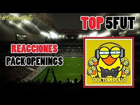 FIFA 14 | TOP 5 REACCIONES PACK OPENING | @DoctorePollo