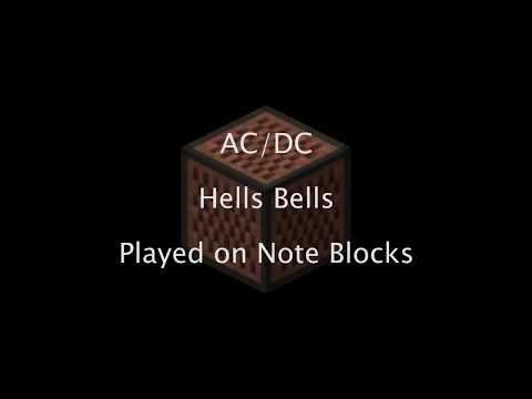 AC/DC - Hells Bells [Note Block Full Cover]