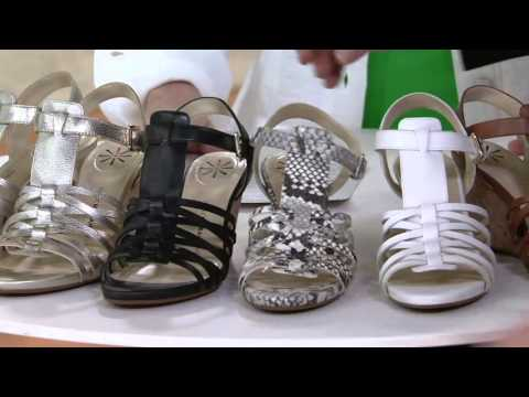 Isaac Mizrahi Live! Leather Fisherman Wedge Sandals on QVC