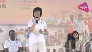 Ge2015: Lee Bee Wah Speaks At Pap Rally At Yishun Stadium, Sep 8
