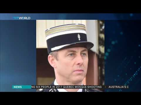 France's Macron leads tributes for hero police officer