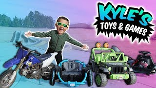 Huge Power Wheels & Ride On Toys Collection For Kids!