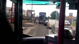 First Greater Manchester Alexander Dennis Enviro 400 33717 SN12 AKF. Route 8 Bolton To Manchester