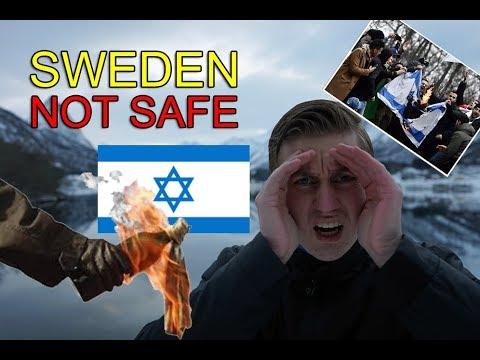 JEWS FIREBOMBED in SWEDEN