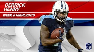 Derrick Henry's Huge Night w/ 131 Rushing Yards & 1 TD! | Colts vs. Titans | Wk 6 Player Highlights