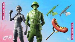 NEW SKINS *PLASTIC PATRULLERO AND TOY SOLDIER*NEW FORTNITE STORE 27/06/19 -ediyt93