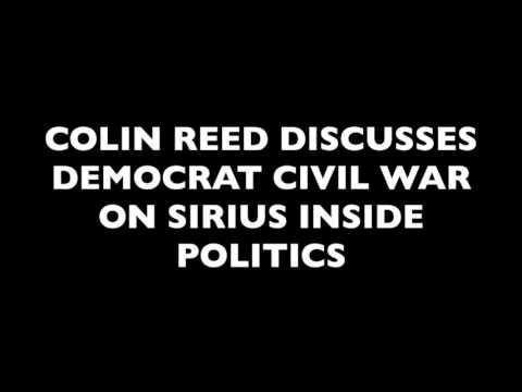 Colin Reed Discusses Democrat Civil War On Sirius Inside Politics