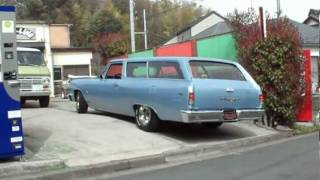64 chevellw 2dr wagon