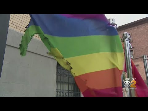 Rainbow Flags Burned At Gay Bar In Harlem