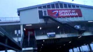Before Check in on Spirit of Tasmania 2 (February 2010)