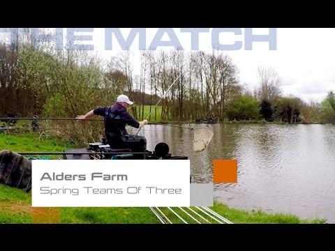 Live Match Fishing: Spring Teams Of Three, Alders Farm
