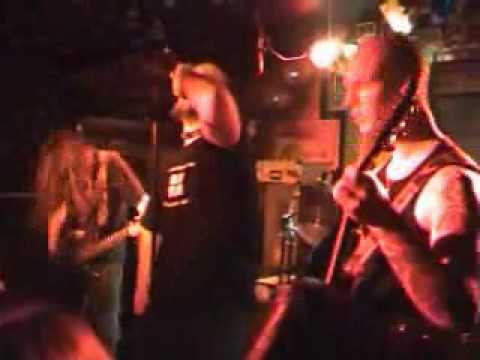 Diabolic Force - Intro/Horny and the horned (Imapled Nazarane cover) Live