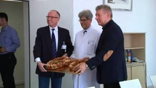 Oberbürgermeister Dieter Reiter besucht Europas größte Dermatologie