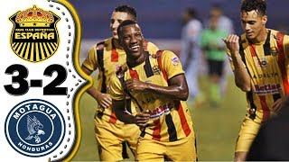 Real Espña vs Motagua 3-2│Resumen Completo HD│Liga 5 Estrellas.